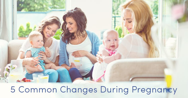 Common Body Changes During Pregnancy